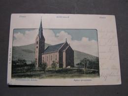 Schirmeck , Alte Karteeglise Kirche 1902 Nach Strassburg - Schirmeck