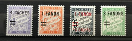 INDE 1928 - NEUF*/MH - Série Complète YT TAXE 8 / 11 - LUXE - RARE -  CV 13 EUR - Unused Stamps