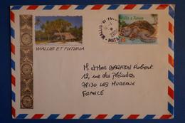 N6 WALLIS FUTUNA LETTRE 2006  PAR AVION MATA POUR LES MUREAUX FRANCE+ AFFRANCH PLAISANT - Covers & Documents
