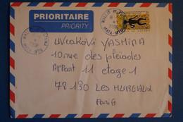 N6 WALLIS FUTUNA LETTRE 2006 PAR AVION MATA UTU  POUR LES MUREAUX FRANCE+ AFFRANCH PLAISANT - Covers & Documents