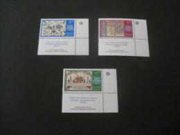 K10005 Set MNh Israel 1978- SC. 685-687-  Marriage   Contracts - Nuevos (con Tab)