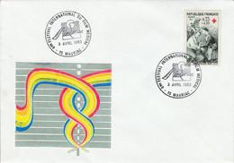 4 EME FESTIVAL INTERNATIONAL FILM MEDICAL à MAURIAC CANTAL 1993 - Cachets Commémoratifs