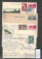 France - Lot De 8 Entiers Commémoratifs - Official Stationery