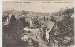 Auray (56- Morbihan) Vue Générale De St Goustan - Auray