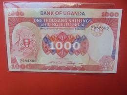 OUGANDA 1000 SHILLINGS 1986 Peu Circuler BELLE QUALITE (B.22) - Uganda