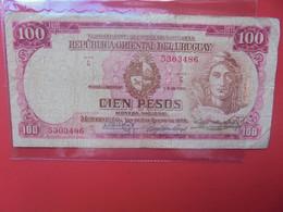 URUGUAY 100 PESOS 1939 Circuler  (B.22) - Uruguay