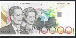 BANKBILJET 10.000 FRANK -  NECKERMANN  ( 21 Cm X 9,5 Cm ) (2 Scans)   (BB 44) - [ 8] Finti & Campioni