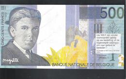BANKBILJET   500 FRANK -  REDOUTE BENELUX - ESTAIMPUIS ( 21 Cm X 11 Cm ) (2 Scans)   (BB 46) - [ 8] Finti & Campioni