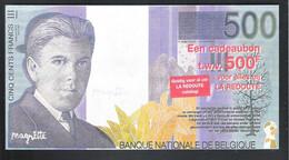 BANKBILJET   500 FRANK -  LA REDOUTE  - ESTAIMPUIS ( 20 Cm X 10.5 Cm ) (2 Scans)   (BB 47) - [ 8] Finti & Campioni