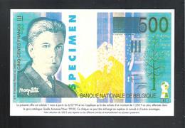 BANKBILJET   500 FRANK -  QUELLE  ( 18.5 Cm X 12 Cm ) (2 Scans)   (BB 49) - [ 8] Finti & Campioni