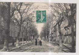 CPA-44-Loire Atlantique- NANTES- L'Avenue Launay Et L'Ecole Professionnelle- - Nantes