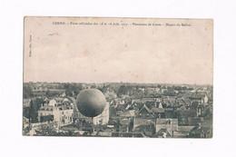 58 COSNE BALLON FETES OFFICIELLES DU 15 & 16 Juin 1907 - Cosne Cours Sur Loire