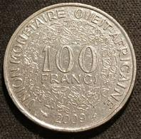 ETATS DE L'AFRIQUE DE L'OUEST - 100 FRANCS 2009 - KM 4 - Other - Africa