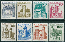 BRD - Mi 913 / 920 A ✶✶ - Burgen Und Schlöser I - Unused Stamps