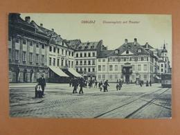 Coblenz Clemensplatz Mit Thater - Koblenz