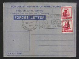 India 1967  International Homoeopathic Congress Dr. Hanimann Cancellation On Forces Letter  #  27691 D  Inde  Indien - Medicine