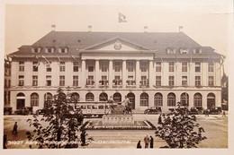 Cartolina - Svizzera - Aarau - Postgebäude U. Schützendenkmal - 1930 Ca. - Sin Clasificación