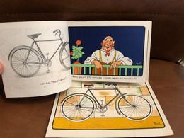 MICH Mich * Illustrateur * RARE Doc Publicitaire 1900 * Cycles & Moto AUTOMOTO * 7 Pubs * Superbe !!! - Mich