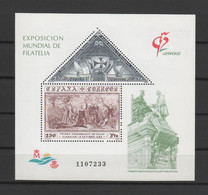 "ESPAGNE - Bloc-feuillet ** ""Exposition Philatélique Granada 1992"" - Yvert  Bloc 50 - Blocks & Kleinbögen"