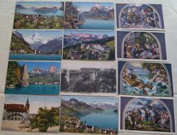 XCH.a.118.  SVIZZERA  - SUISSE  - SCHWEIZ - Lotto Di 52 Cartoline F.to Piccolo - 5 - 99 Cartes