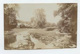 BUXTON, Coyt Bridge & Stepping Stones - Glossy, Photo Séries  ( 2 Scans ) - Derbyshire