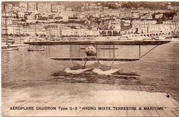 Aéroplane Caudron Type G - 3 - Hydro Mixte Terrestre & Maritime   (121534) - Autres