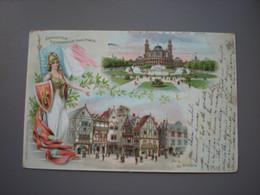 PARIS - EXPOSITION UNIVERSELLE 1900 -  LE TROCADERO - LITHO KAHN FRERES& ZABERN - Expositions