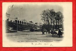 * PAU - Avenue Léon Say - 1903 ( Chevaux Attelés, Pub AMER PICON Au Fond ) - Pau