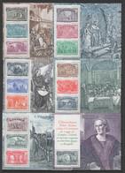 ITALIE 1992  - 500e Anniversaire De La Découverte De L'Amérique - 6 Blocs-feuillets ** - Yvert  Blocs  10 à 15 - Blocks & Kleinbögen