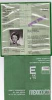 1968 Jeux Olympiques De Mexico Carte D'identite Carte Trés Rare - Sin Clasificación