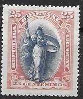 Uruguay Mint Hinged * 4,5 Euros 1897 - Uruguay