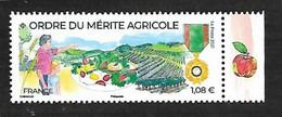 France 2021 - Ordre Du Mérite Agricole ** - Ungebraucht