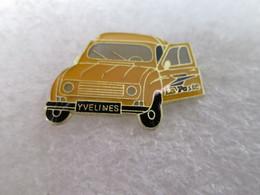 PIN'S    RENAULT  4 L  LA POSTE  YVELINES - Renault