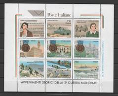 """ITALIE 1995  - Bloc-feuillet ** """"Événements Historiques De La Seconde Guerre Mondiale"""" - Yvert  Bloc  17 - Blocks & Kleinbögen"""