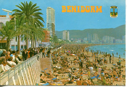Spagna, Benidorm - Viaggiata Per La Francia (1980) - Non Classés