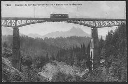 ARVEYES - Train Sur Le Pont - VD Waadt
