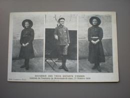 MOLENBEEK ST. JEAN - SOUVENIR DES TROIS ENFANTS D'ESSEN, VICTIMES DE L'ASPHYXIE 17 OCTOBRE 1909 - ED; LEMAITRE - Molenbeek-St-Jean - St-Jans-Molenbeek