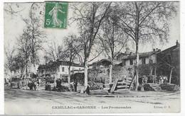 33 GIRONDE  CADILLAC SUR GARONNE MARCHE AUX BOIS ?? ATTELAGES JOLI   PLAN - Cadillac