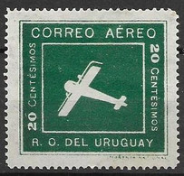 Uruguay Mint Hinged * 4,60 Euros1924 - Uruguay