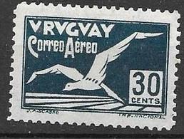Uruguay Mint Hinged * 4 Euros 1928 - Uruguay