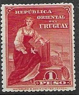 Uruguay Mint Hinged * 7,5 Euros 1910 - Uruguay