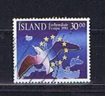 Island, Iceland 1990: Michel-Nr. 730 Gestempelt, Used - Gebraucht