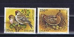 Island, Iceland 1995: Michel-Nr. 833-834 Gestempelt, Used - Gebraucht