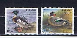Island, Iceland 1997: Michel-Nr. 862-863 Gestempelt, Used - Gebraucht