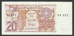 ALGERIA. 20 DINARS. 1983. Pick 133. - Algeria