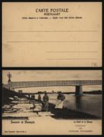 Carte Postale - Souvenir De Maeseyck - Le Pont Et La Meuse - Maaseik