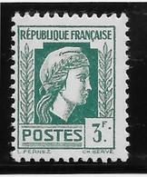 "France N°642b - Variété Point Après Le ""F"" - Neuf ** Sans Charnière - TB - Neufs"