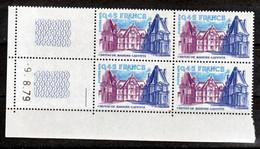 France 2064b  Bloc De 4 Coin Daté Gomme Tropicale Neuf ** TB MNH Sin Charnela - Variétés: 1970-79 Neufs