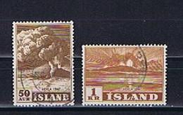 Island, Iceland 1947: Michel-Nr. 250 + 252 Gestempelt, Used - Gebraucht