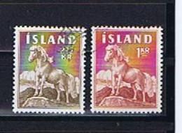 Island, Iceland 1958-1960: Michel-Nr. 326 + 342 Gestempelt, Used - Gebraucht